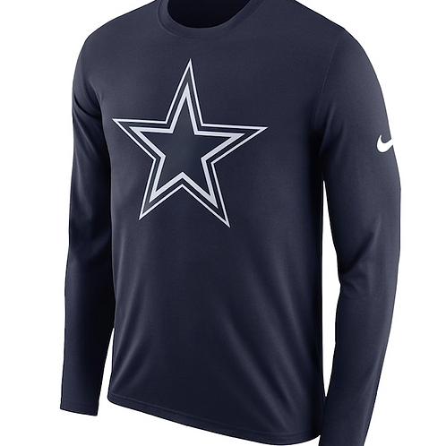 Dallas Cowboys LS Nike Logo Tee