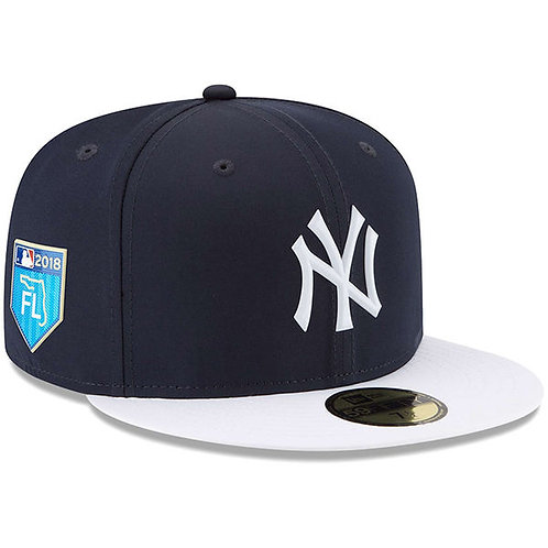 NY Yankees New Era Navy/White 2018 Spring Training Collection Prolight5950