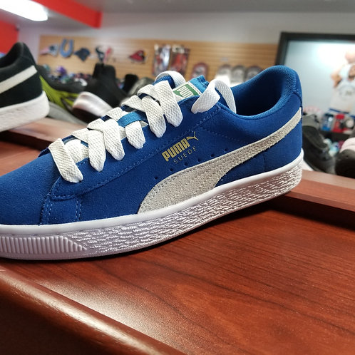 Blue Suede Puma youth
