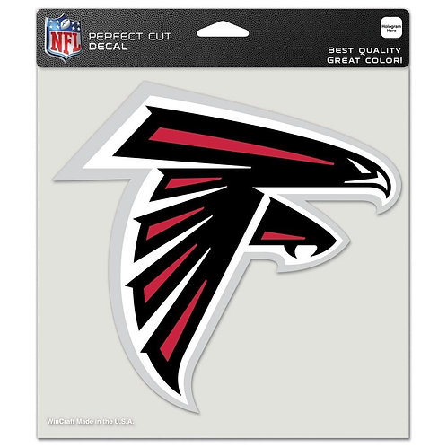 "Atlanta Falcons 8""X8"" Decal"