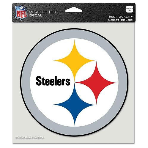 "Pittsburgh Steelers 8""X8"" Decal"