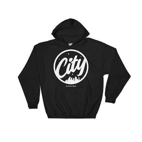 City Collection hoodie alt logo