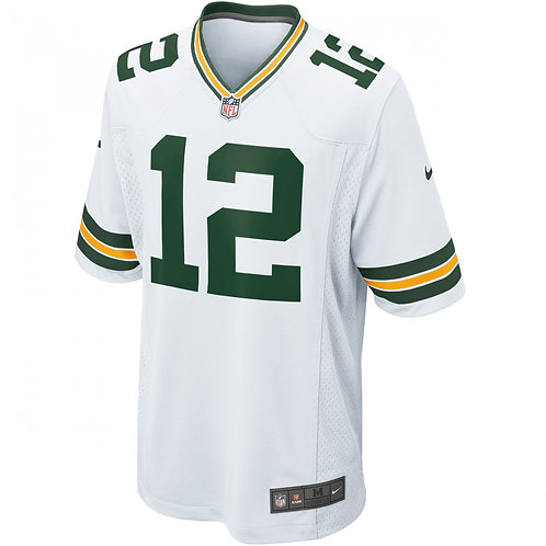 AARON RODGERS GAME REP JERSEY MENS 2XL