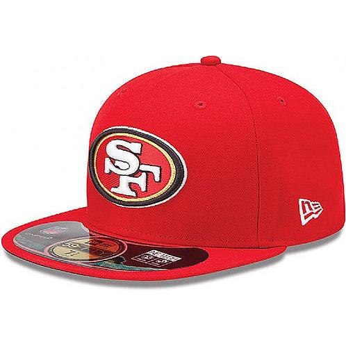 San Francisco 49ers ON FIELD 59Fifty New Era
