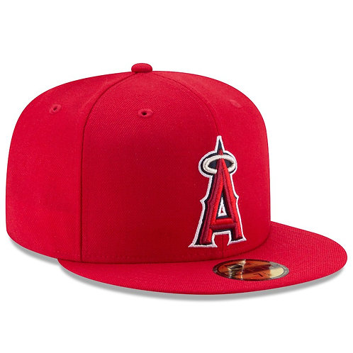 Los Angeles Angels New Era Game Authentic Collection On-Field 59FIFTY Fitted Hat
