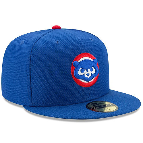 Chicago Cubs New Era Cub Head Diamond Era 59FIFTY Fitted Hat - Royal
