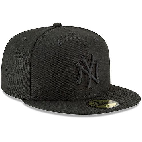 NY YANKEES BLACK ON BLACK 5950