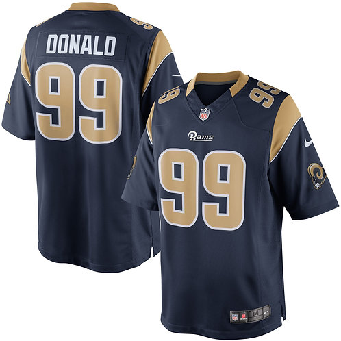 Los Angeles Rams Aaron Donald Game Rep Jersey