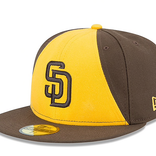 San Diego Padres Brown/Gold Authentic Collection On-Field 59FIFTY Fitted Hat