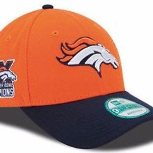 Denver Broncos 3X Champs Adjustable 9Forty New Era