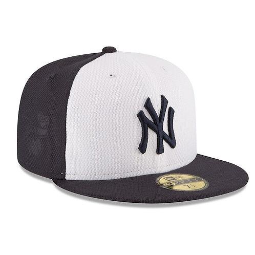 NY Yankees New Era Nvy/Wht  Diamond Era 59FIFTY Fitted Hat