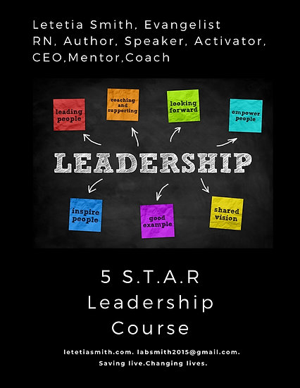 5 S.T.A.R Identity Workbook-For Coaching