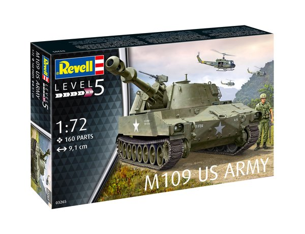 Revell M109 Tank