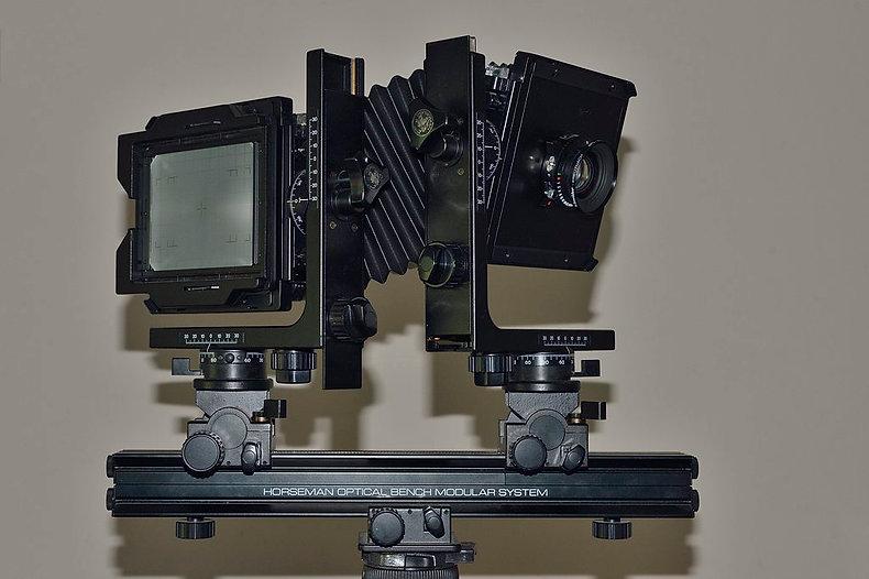 "Horseman 5""x4"" large format film camera"