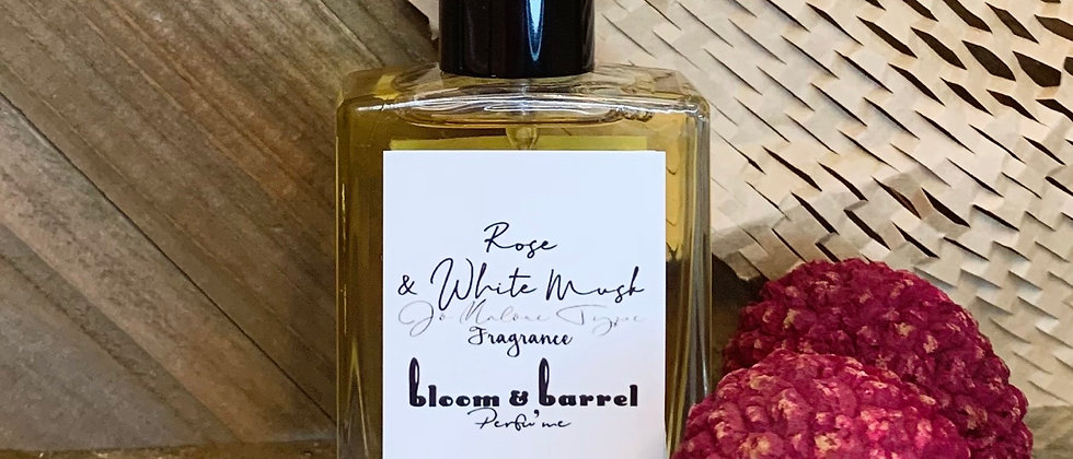 Rose & White Musk Fragrance