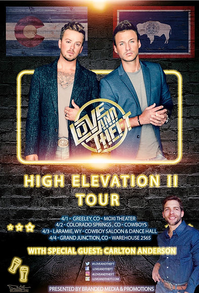 Love and Theft High Elevation II Tour.jp