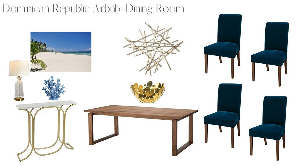 Airbnb Dining Room design - Mern Interior Design
