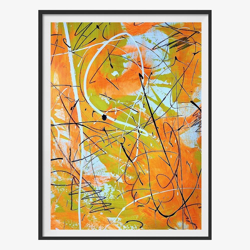 Fine Art by Stuart Bern. Untitled (20200 via Mern Interior Design