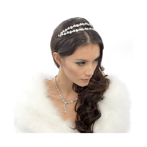 Crystal Shimmer Headband, Head band, Bridal Accessories, Bridal Headband, Crysta