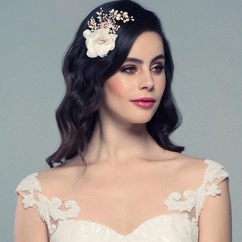 Miriam Floral Wedding Headpiece,  Bridal Hair, Bridal Accessories, Head Piece, S