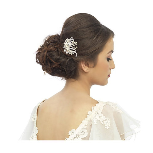 Crystal Beauty Bridal Hair Comb, Available in Silver, Bridal Accessories, Bridal