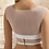 Thumbnail: Beautiful Stretch Tulle Bolero - Ivory