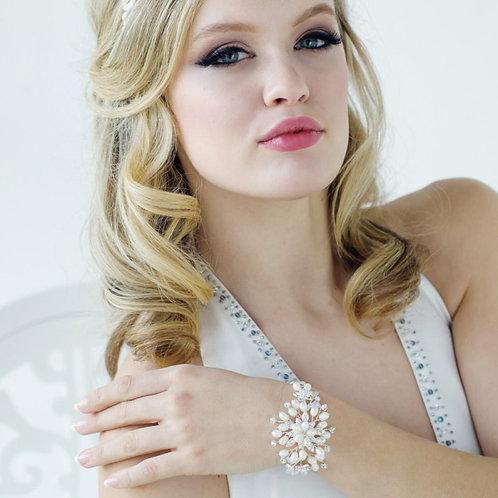 Starlet Freshwater Pearl Bracelet, Silver, Bridal Accessories, Wedding Jewellery