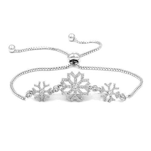 Crystal Snowflake Bracelet
