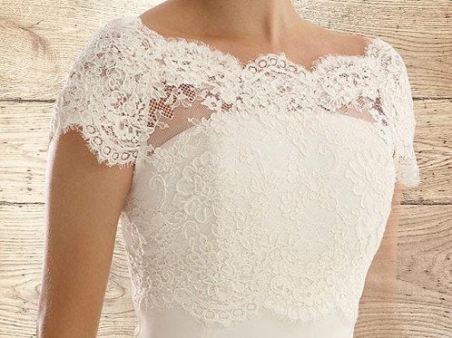 Beautiful Lace Bolero - Wedding Dress Cover Up Accessories,  Ivory Lace