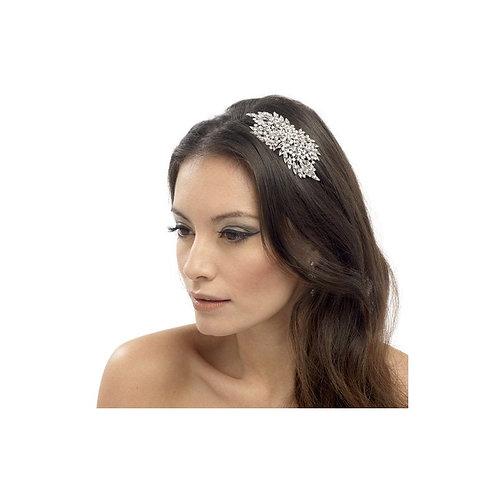 Classic Extravagance Crystal Hair Comb, Silver, Bridal Accessories, Bridal Hair,
