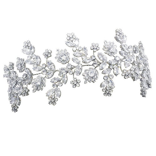 Beautiful Gatsby Style Opulence Headpiece, Bridal Accessories, Bridesmaid Hair,