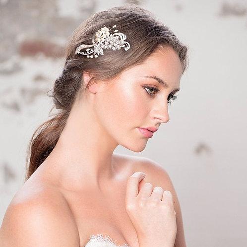 Crystal Vintage Luxe Headpiece,  Bridal Hair, Bridal Accessories, Head Piece, Si