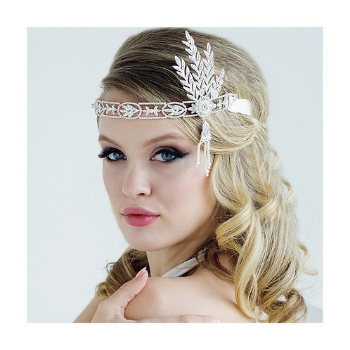 Beautiful Luxe Gatsby Style Headband, Bridal Accessories, Bridesmaid Hair, Brida