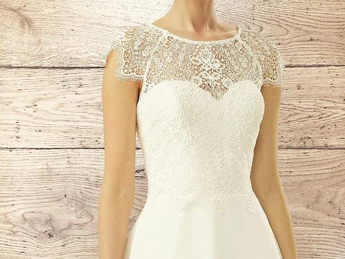 Beautiful Floral Lace Bolero - Wedding Dress Cover Up, Bridal Accessories,  Stun