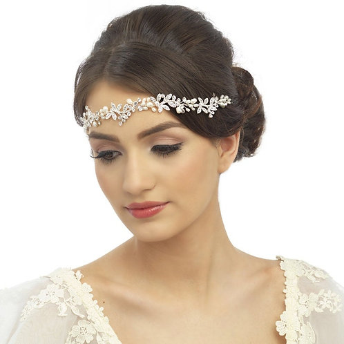 Luxe Embellished Hair Vine, Wedding Hair Accessories, Silver, Rose Gold or Gold,