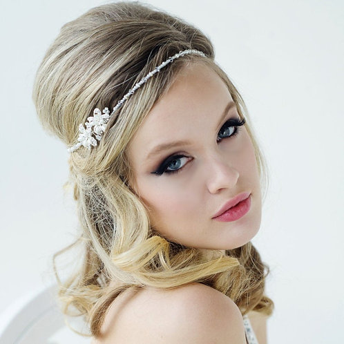 Beautiful Dainty Chic Vintage Inspired Headpiece, Brow Band, Bridal Accessories,