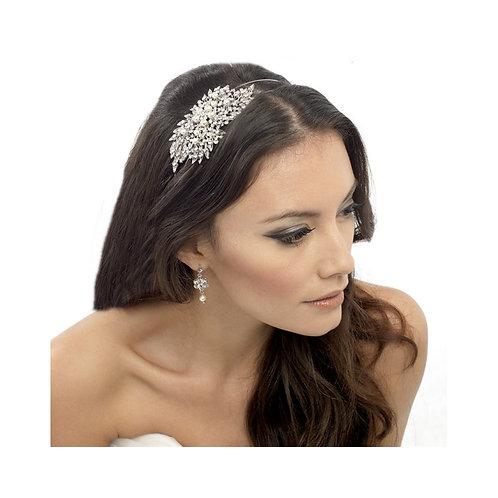 Classic Extravagance Pearl Headband, Crystal, Ivory Pearls, Head band, Bridal Ac