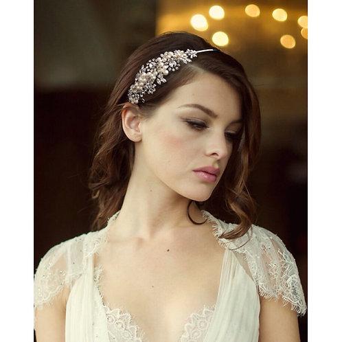 Sofia Luxe Pearl Headband, Pearls, Crystal , Bridal Accessories, Bridesmaid Hair