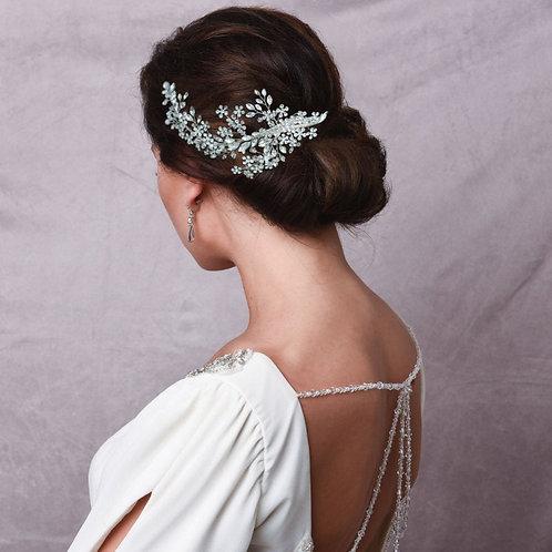 Crystal Extravagance Headpiece,  Bridal Hair, Bridal Accessories, Head Piece, Si