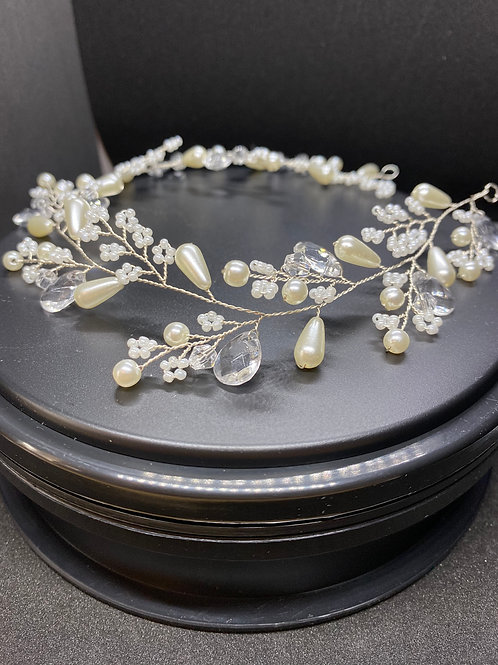 Dainty Diva Hairvine, Hair Accessories, Available in Silver, Bridal Accessories,
