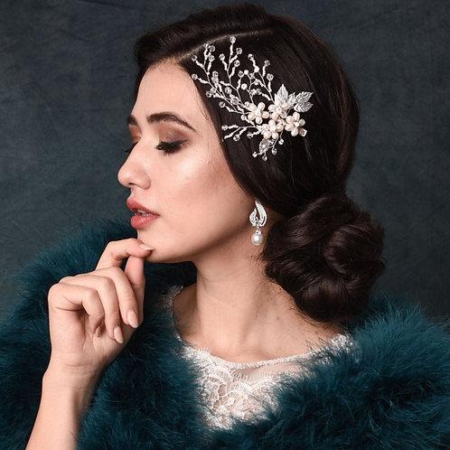 Exquisite Pearl Hair Clip,  Bridal Hair, Bridal Accessories, Bridesmaid Bride Ha