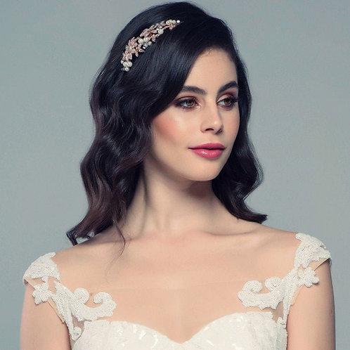 Beautiful Luxury Crystal, Pearl, Floral Headband, Bridal Accessories, Bridesmaid