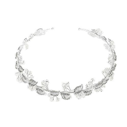 Dainty Crystal Hair Vine, Wedding Hair Accessories, Silver, Bridal Accessories,