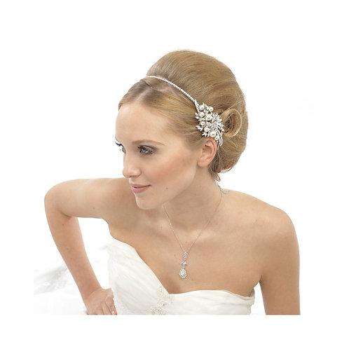 Vintage Pearl Headband, Bridal Accessories, Bridesmaid Hair, Beautiful Bridal He