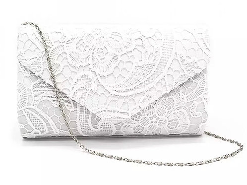 Beautiful Vintage Inspired Bridal Lace Envelope Clutch Bag