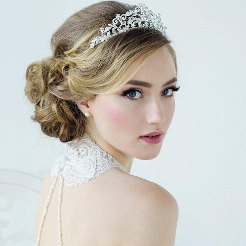 Rochelle Vintage Inspired Bridal Tiara, Wedding Tiara, Bridal Accessories, Rose