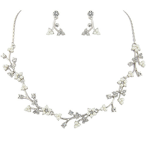 Dainty Daisy Necklace Set - Rose Gold or Silver
