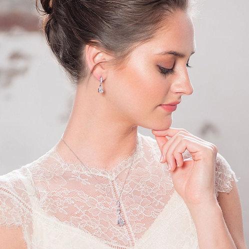 Shimmer Bridal Necklace Set, Earrings & Necklace Set, Wedding Jewellery, Bridal,