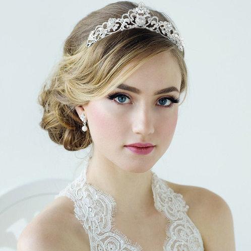 Bridal Tiara, Crystal Wedding Tiara, Bridal Accessories, Rose Gold or Silver Tia