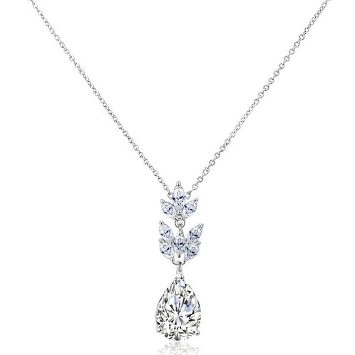 Starlet Chic Necklace, Available in Silver,  Wedding Jewellery, Bridal Accessori